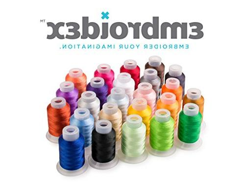 Embroidex Kit to Do Machine Embroidery Plus Embroidery and