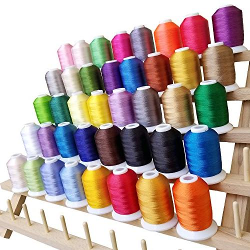 embroidery thread polyester spools