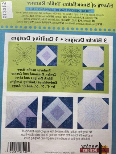 Amazing Designs Snowflakes Machine CD