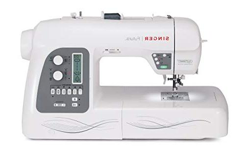 Singer Futura and 125 Embroidery Built-in Thread perfect sewing