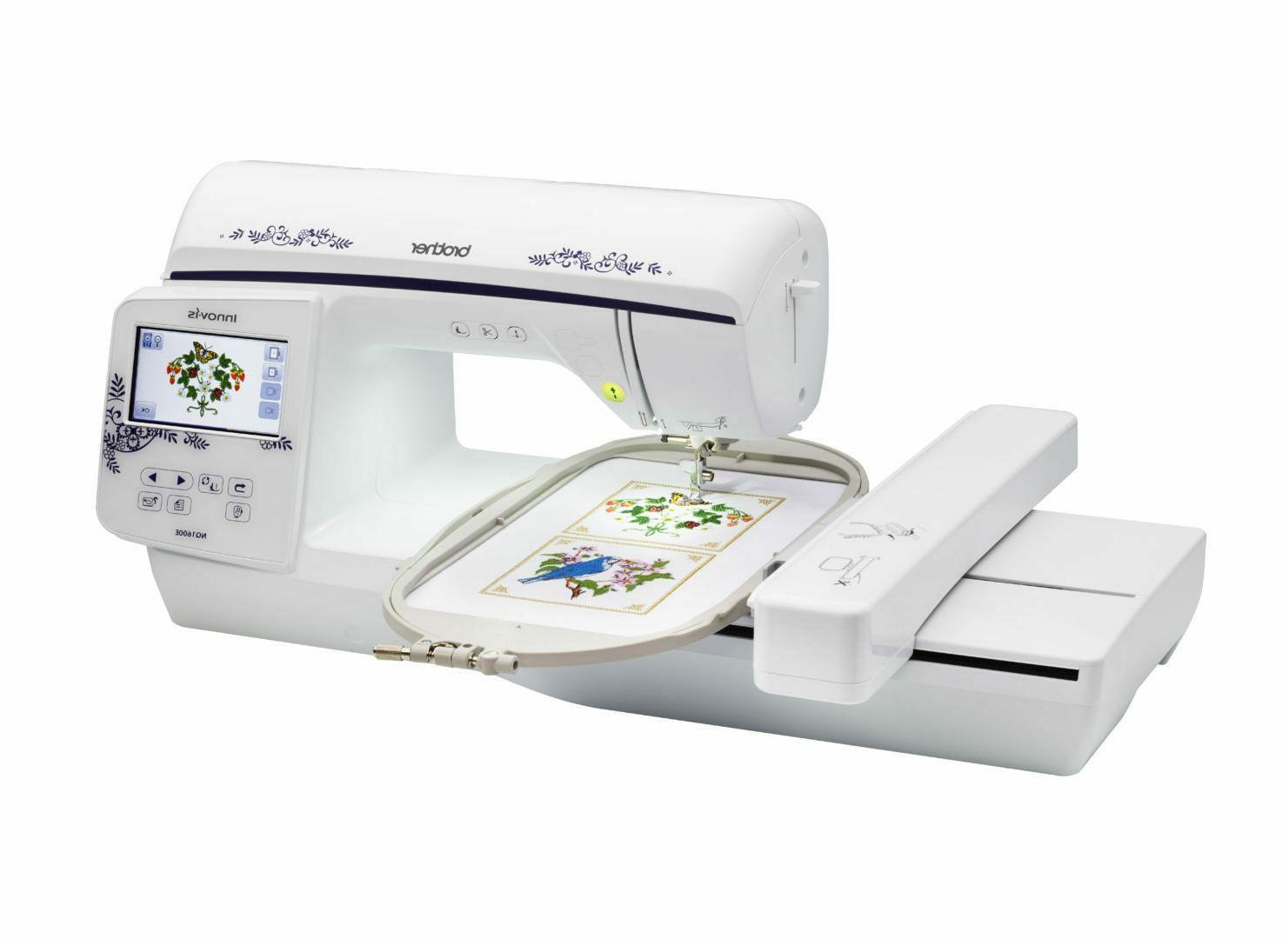 innovis nq1600e computerized embroidery machinenew