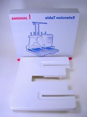 janome embroidery machine embroidery extension table