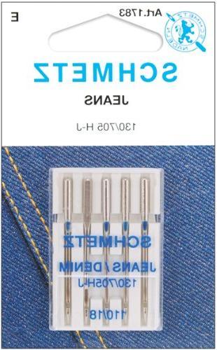 jean denim machine needles 18