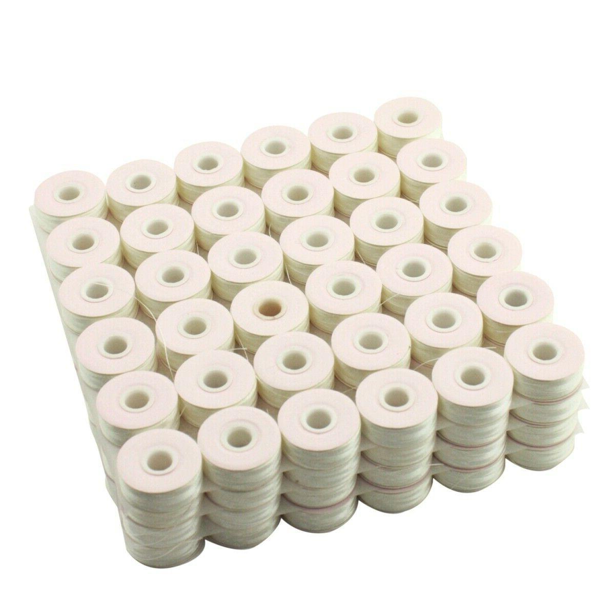 Cutex™ Paper White Prewound Embroidery Machine Bobbins -
