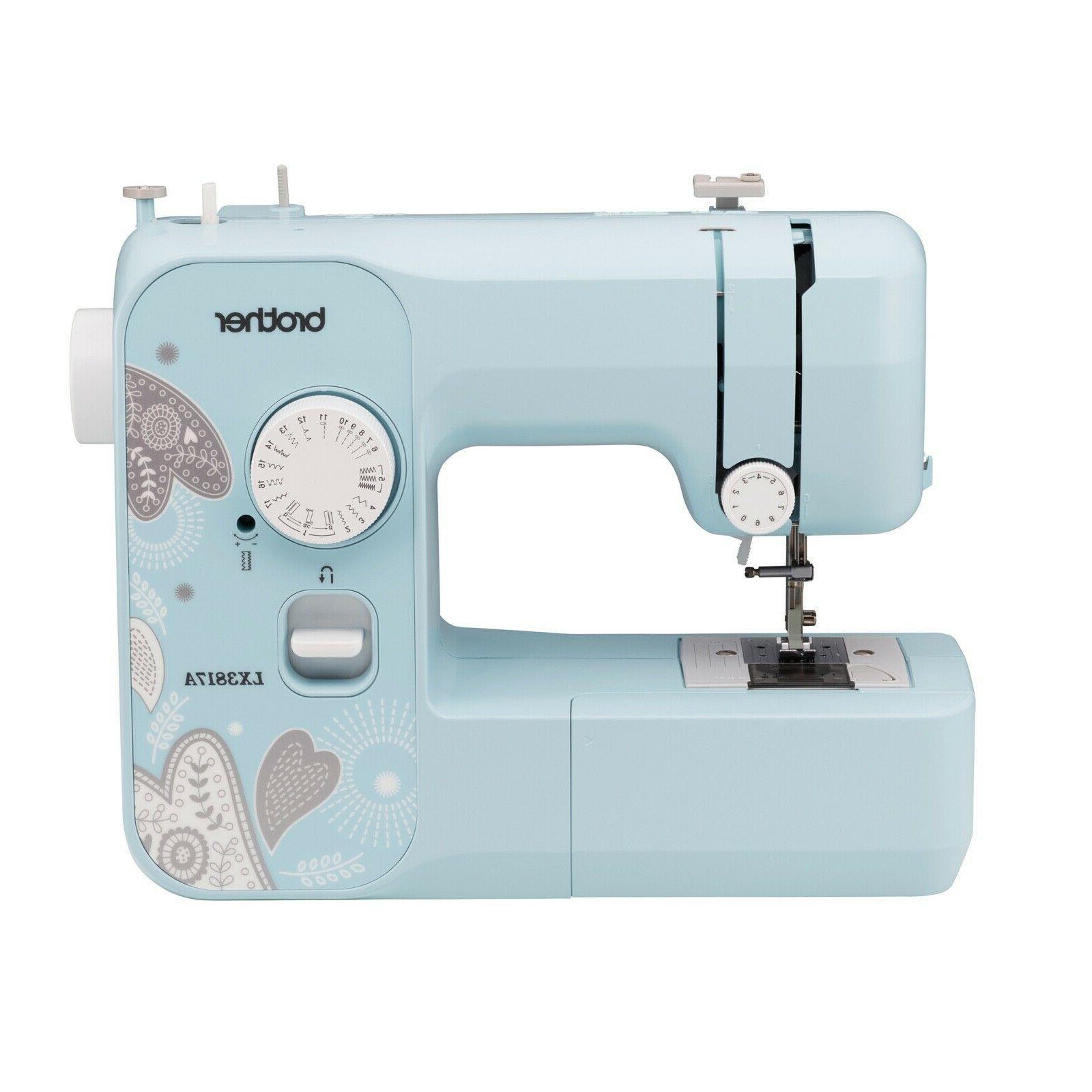 lx3817a sewing machine aqua 17 stitch full
