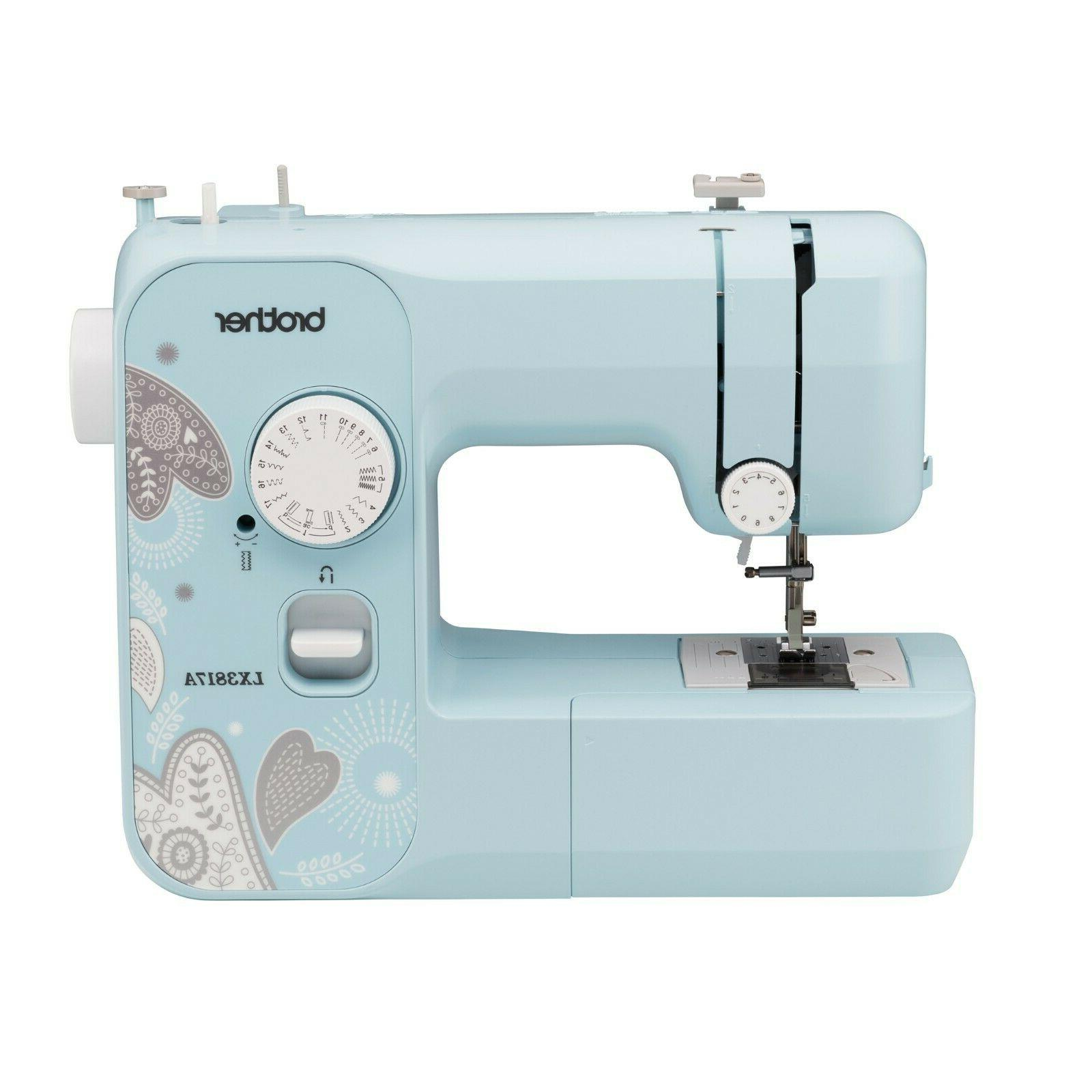lx3817a sewing machine with 17 built in