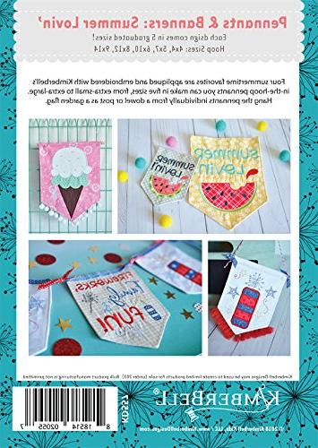 KIMBERBELL Embroidery CD: Pennants Banners: Lovin'