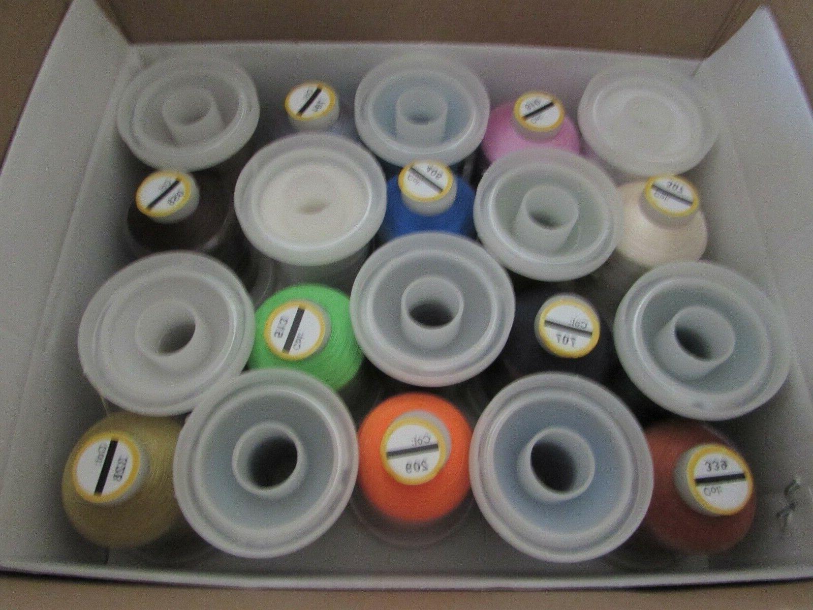Embroidex, 40 Spools, Colors, nib