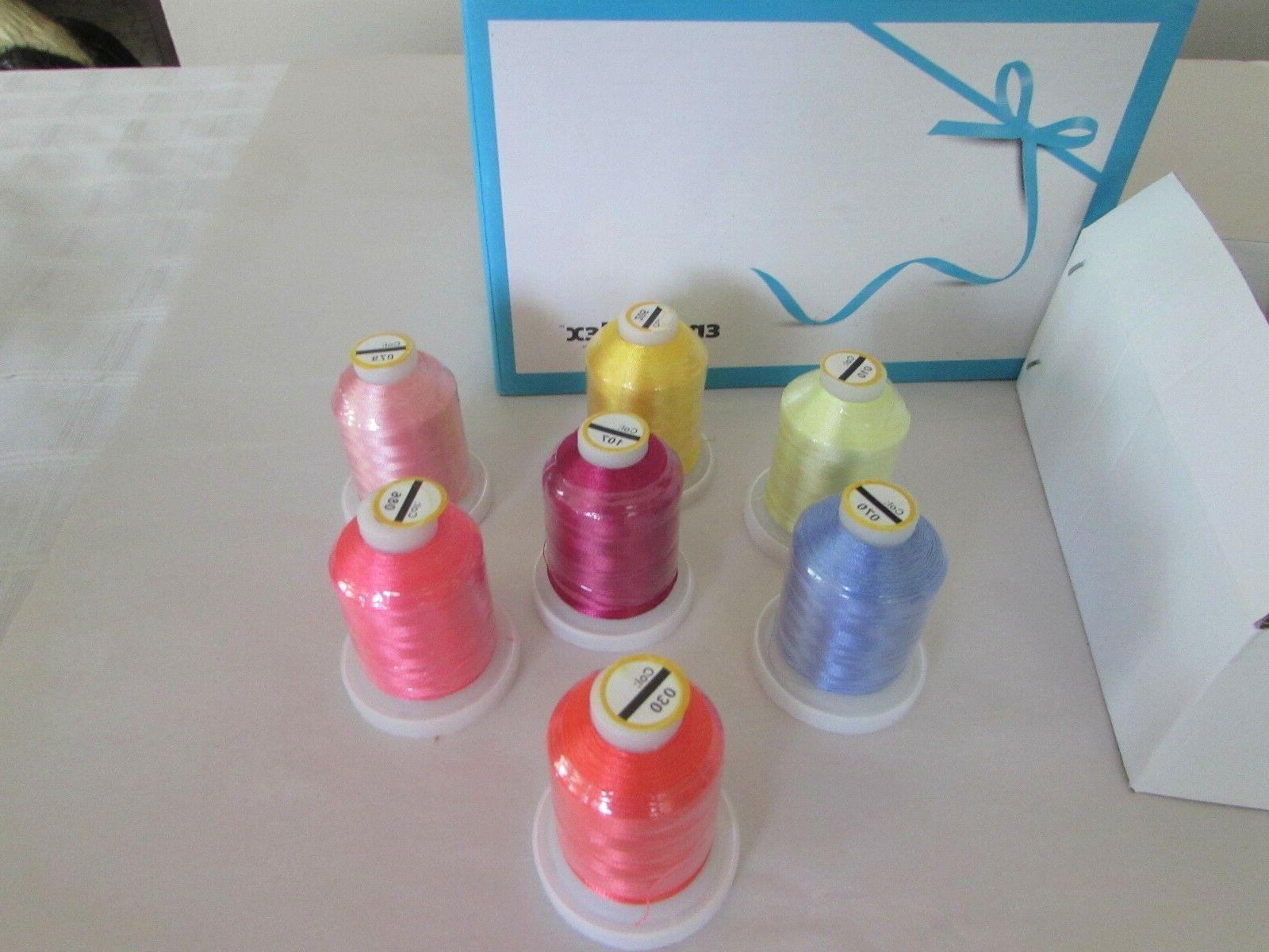 Embroidex, Thread, Colors, nib