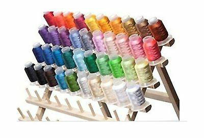 machine embroidery thread spools polyester 40 bright