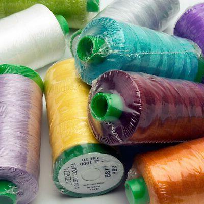 mako embroidery thread 40wt cotton thread 1094