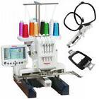 Janome MB4S Home Use 4-Needle Embroidery Machine w/ Free Bon
