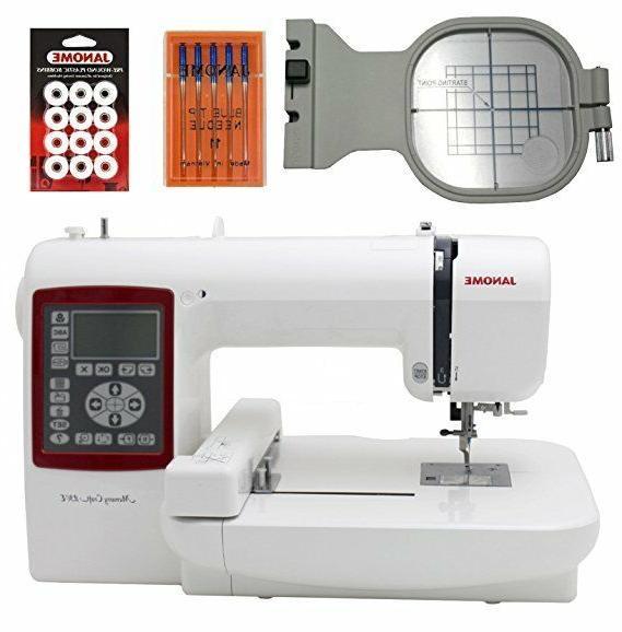 Janome Memory 230E MC230E Embroidery Machine with Bonus