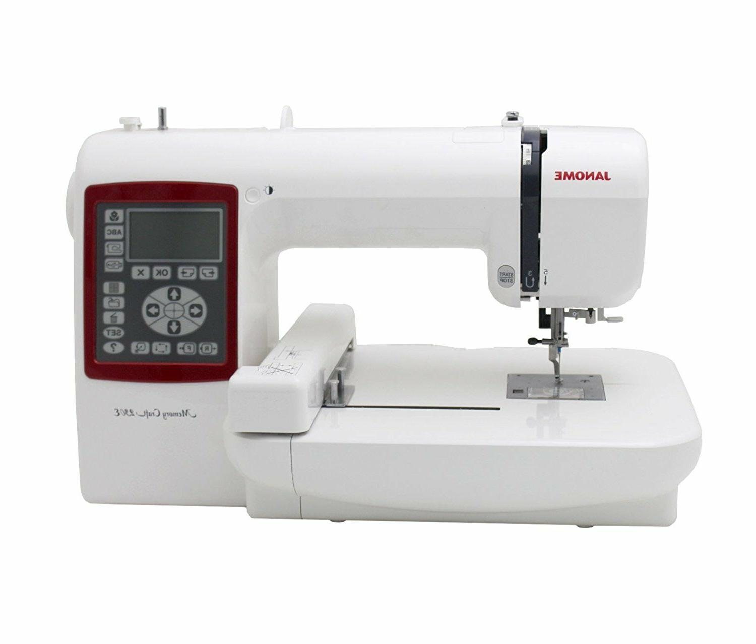memory craft 230e mc230e embroidery machine