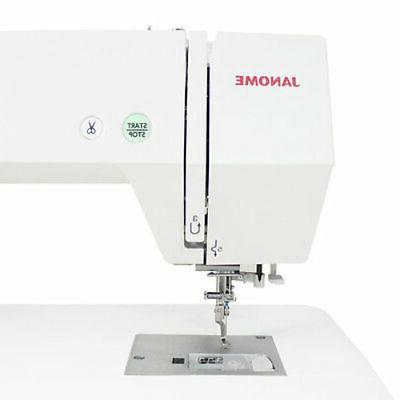 Janome Memory Craft Embroidery Machine with Bonus Bundle