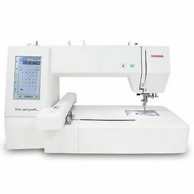 Janome Memory Craft 400E Embroidery Machine Bonus