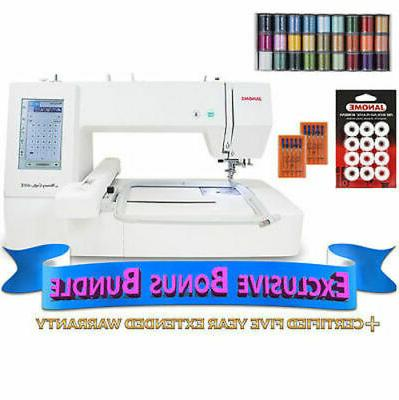 memory craft 400e embroidery machine with exclusive