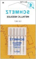 Metallic Machine Needles-Size 12/80 5/Pkg