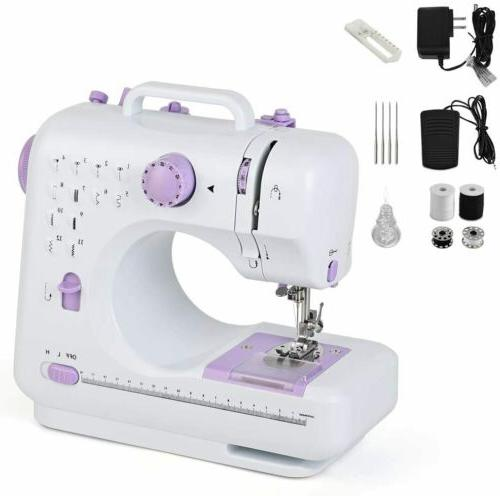 Mini Electric Sewing Machine Stitches Household Tailor 2