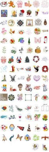 OESD C&C Treasure Chest of Embroidery Machine Designs CD VOL