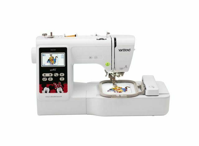 new pe550d embroidery machine 125 built in