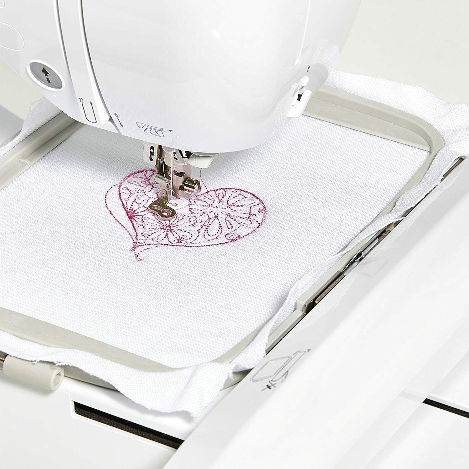 BRAND Embroidery Machine Built-in Designs USB
