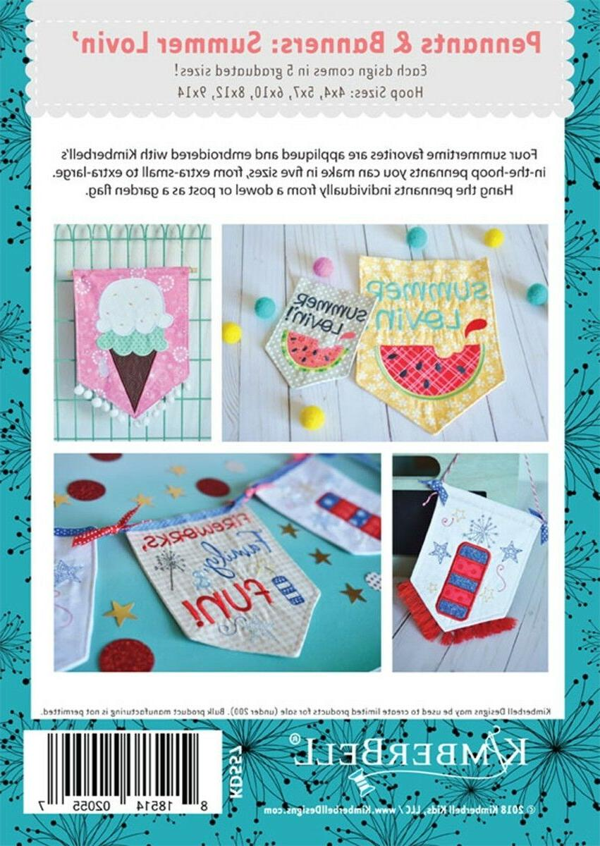 PENNANTS AND BANNERS: LOVIN' From Kimberbell NEW
