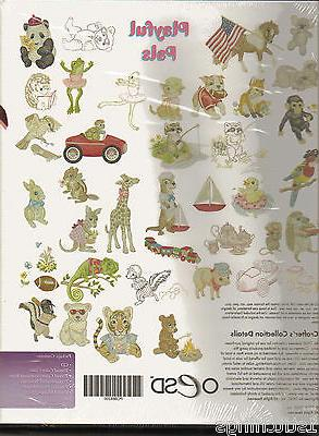 OESD Pals Machine Embroidery Designs New
