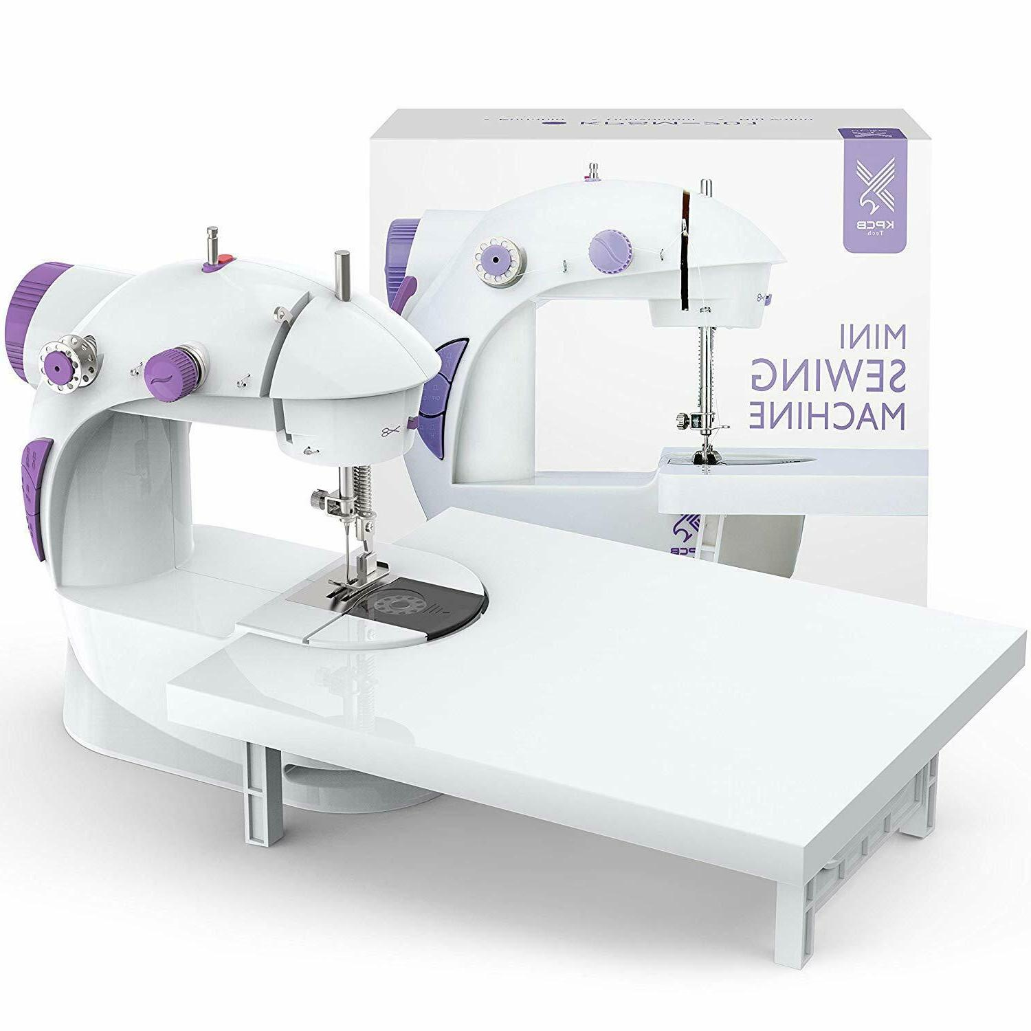 Portable Beginners Sewing Mending With Extension