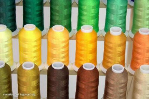 Premium Polyester Embroidery Thread 40