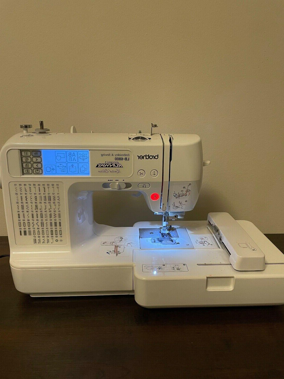 project runway embroidery machine lb 6800
