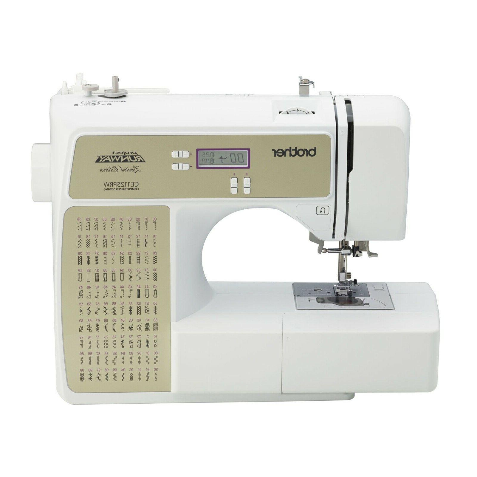 project runway sewing machine 100 stitch factory