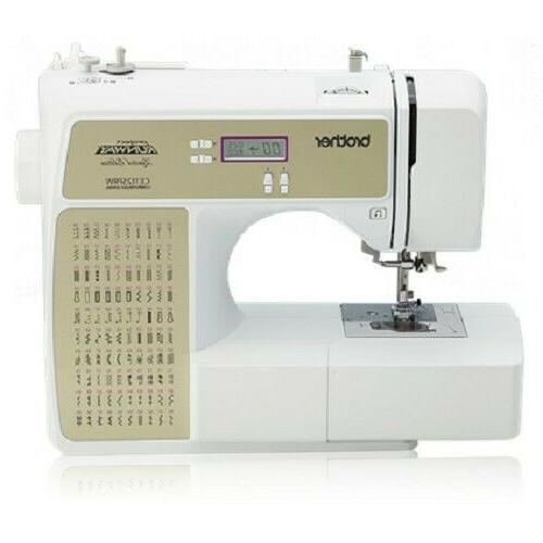 rce1125prw computerized home sewing embroidery machine facto