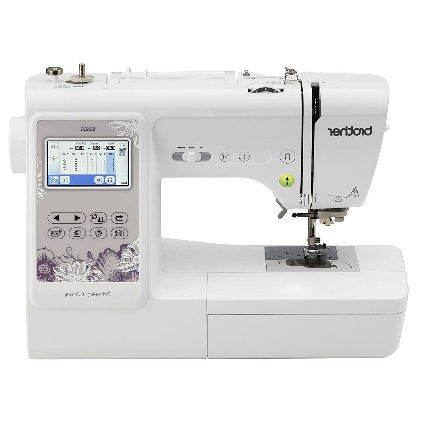 Brother SE600 and Embroidery FREE