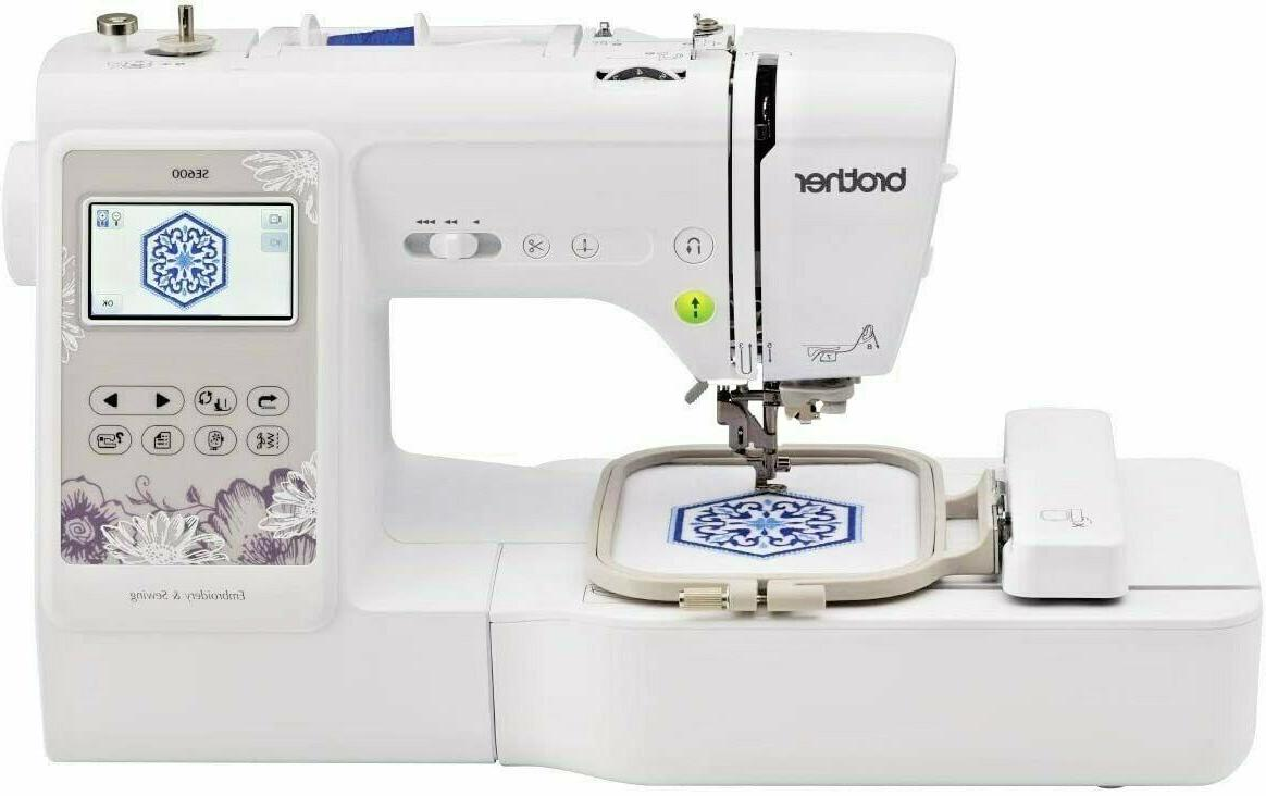 se600 computerized sewing embroidery machine new in