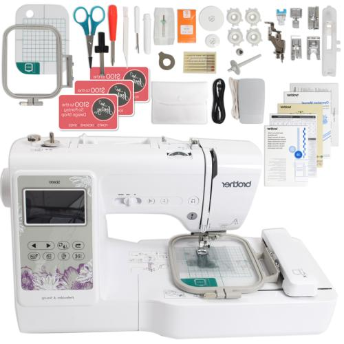se600 computerized sewing embroidery machine
