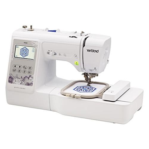 "Brother Machine, Computerized Sewing Machine x 4"" Embroidery Area, 80 Embroidery Sewing Stitches,"