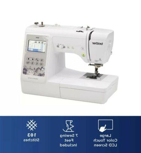 *Brother SE600 Embroidery 103 Built-In