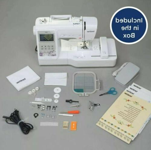 se600 sewing and embroidery machine 80 designs
