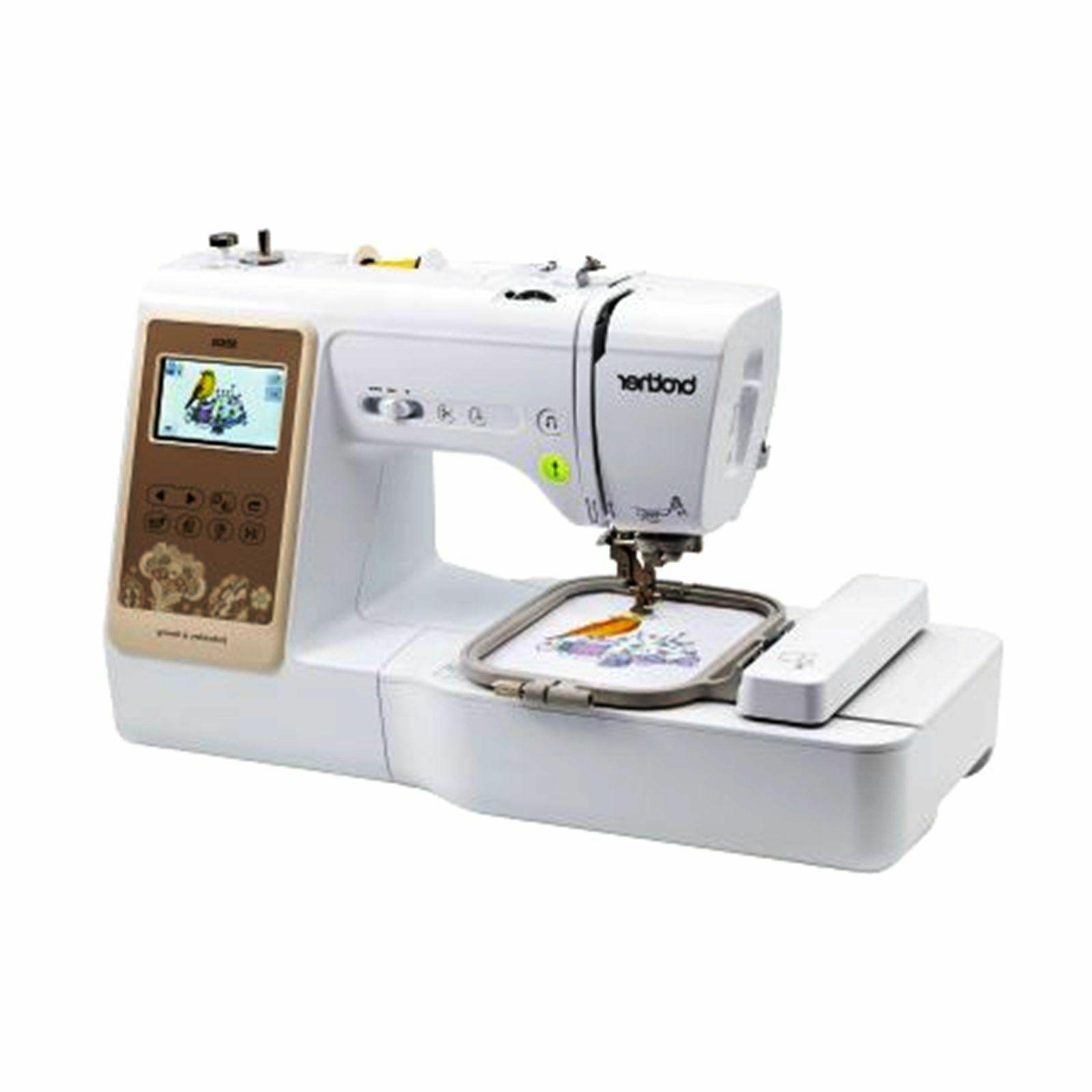Brother and Embroidery Machine
