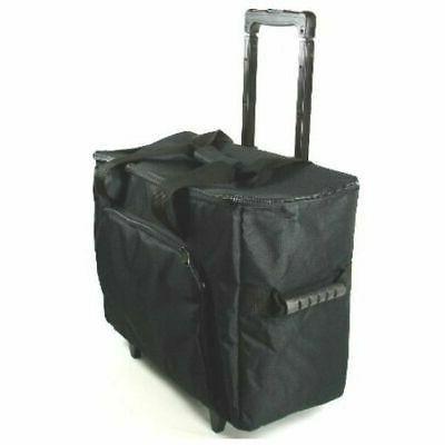 sewing and embroidery machine case trolley black