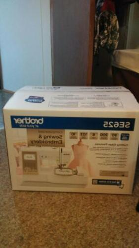 sewing and embroidery machine se625