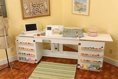 Arrow Sewing Cabinet Bertha Sewing Machine Airlift with Sewi