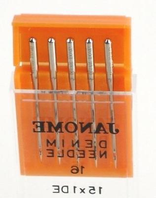 sewing machine needle denim 16