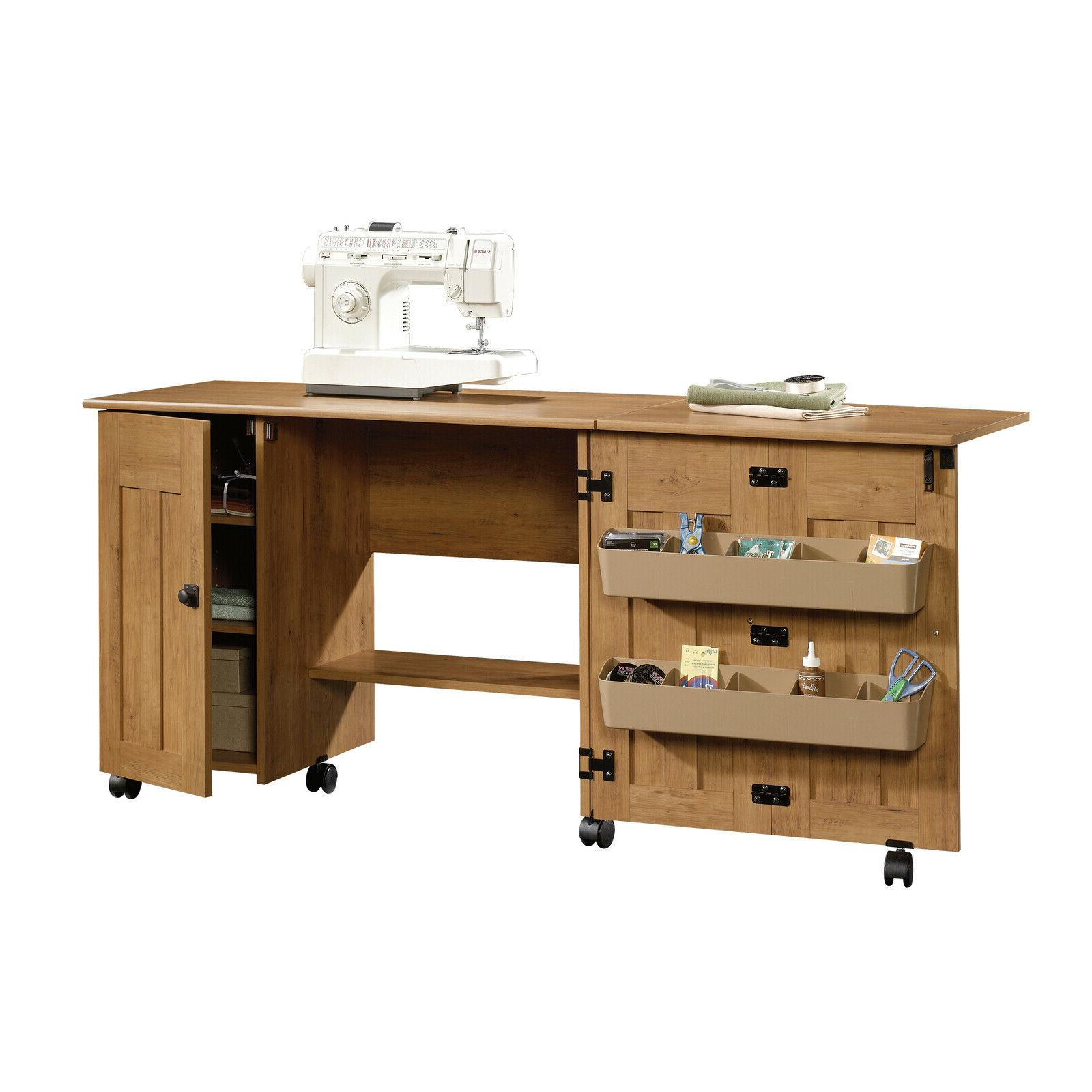 Sewing Machine Table Cabinet Station Tables Storage