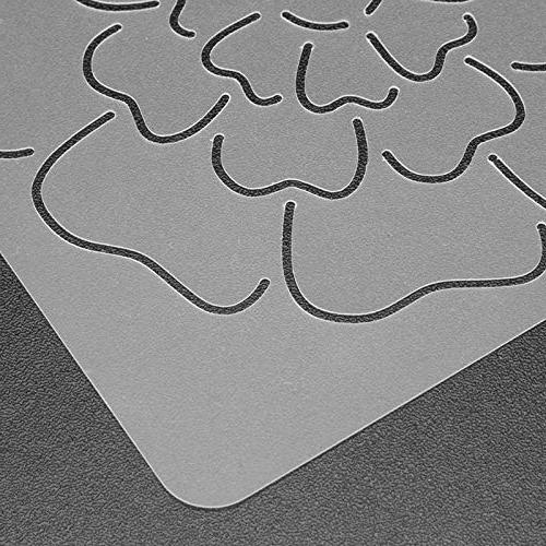 Sewing Accessory 1pcs Transparent Flower Quilting Craft Machines For .rugs