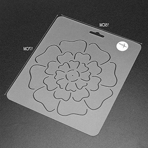 Sewing Tools - 1pcs Transparent Flower Quilting Craft - For .rugs Painting Craft