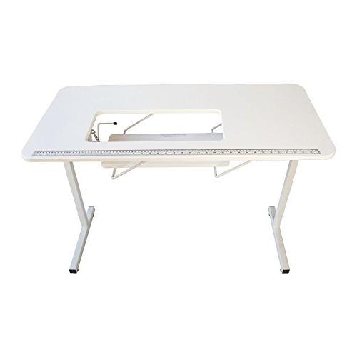 Sewingrite Foldable Hobby Utility White