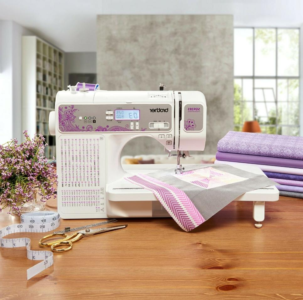 sq9285 computerized sewing and quilting machine 150