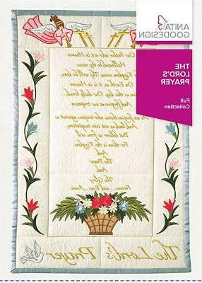the lord s prayer embroidery machine design